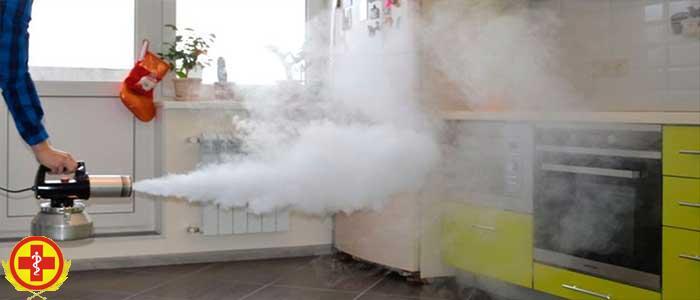 В каких случаях проводят дезинфекцию воздуха