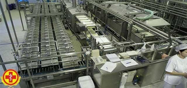 Дезинфекция на предприятиях молочной промышленности
