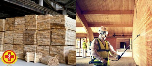 Как проходит фумигация древесины